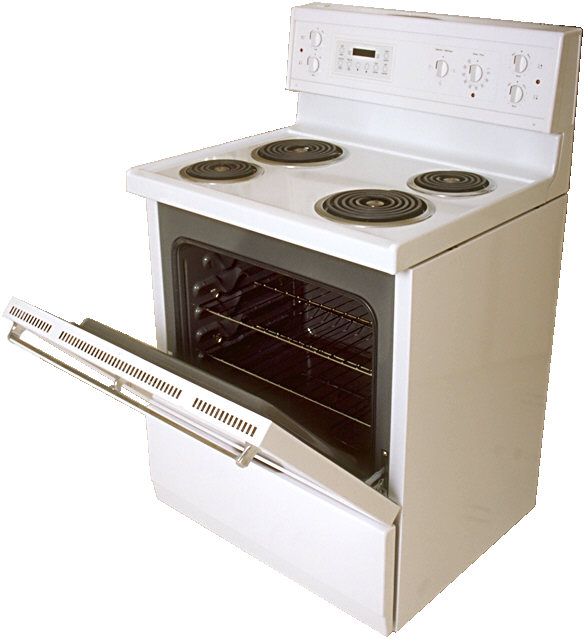 Open Oven In Kitchen: The Kitchen Stove: A Major Cause Of Burn And Scald